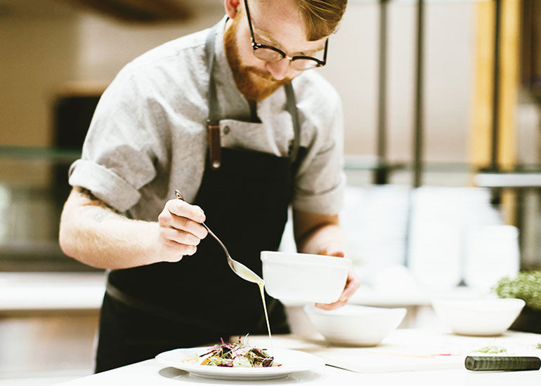 Chef Kenny's 8 Tips for Staying Calm in a Busy Kitchen