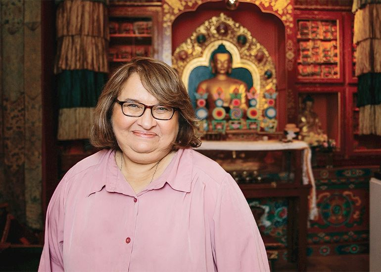 Sharon Salzberg and the Two Wolves