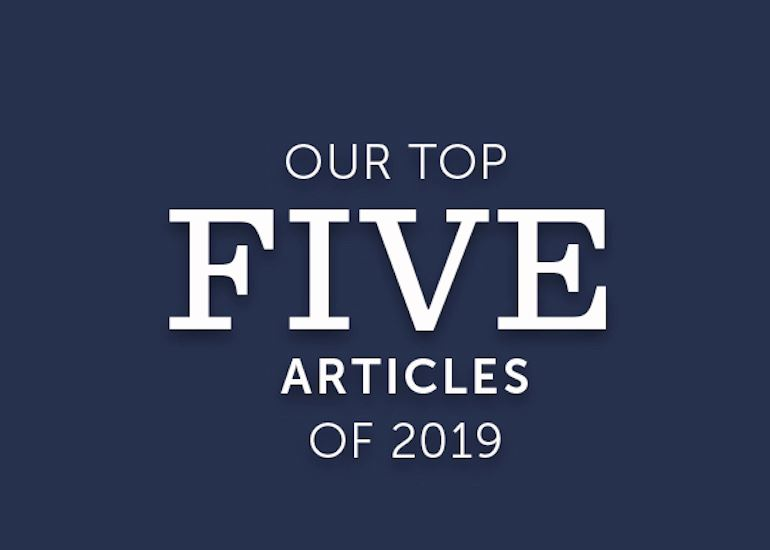 Top 5 Most-Read Articles of 2019