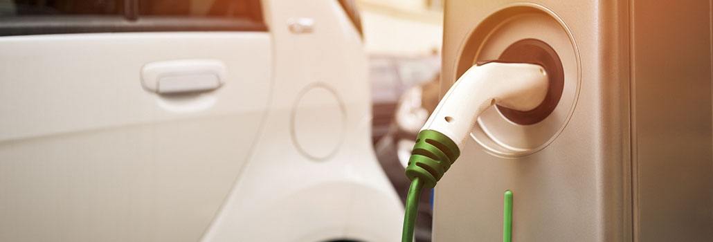 Can I charge my electric car on campus?